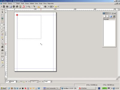Editace vzorové strany