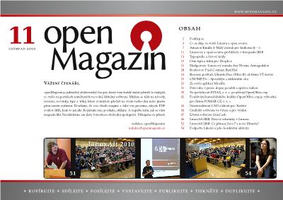 openMagazin 11/2010